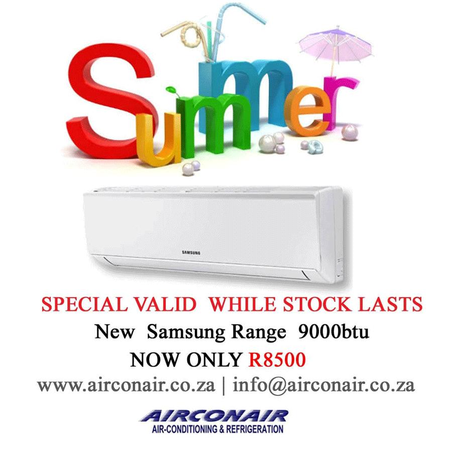 Airconair Summer Special